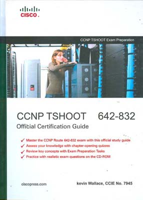CCNP TSHOOT 642-832 (wallace) CISCO كاويان