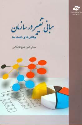 مباني تغيير در سازمان چالش ها و تضادها (شيخ الاسلامي) مركز آموزش و تحقيقات صنعتي