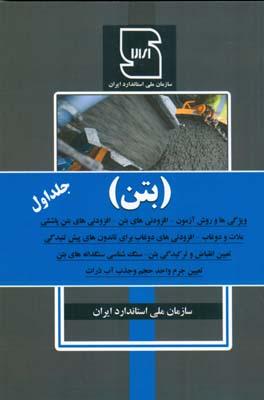 بتن جلد 1 (سازمان ملي استاندارد ايران) عمارت پارس