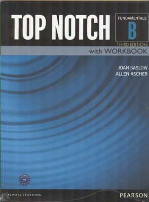 (TAP NOTCH B with work book (saslow
