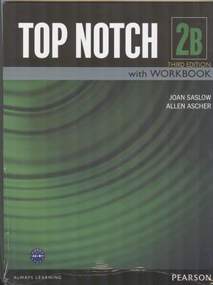 (TAP NOTCH 2B with work book (saslow
