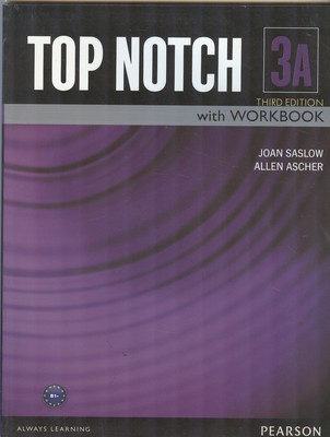 (TAP NOTCH 3A with work book (saslow