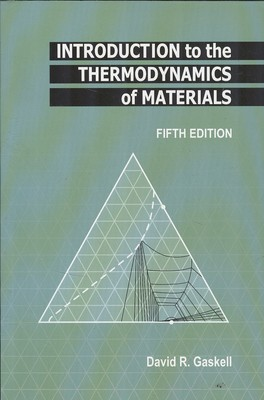 Introduction to the thermodynamics of materials (gaskell)i نوپردازان