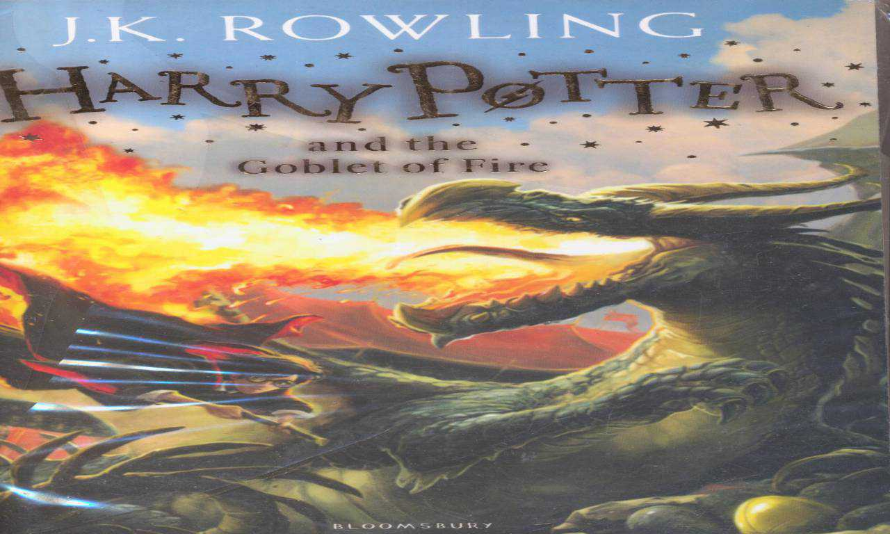 HARRY POTTER AND THE GOBLET OF FIRE 4 Full Text