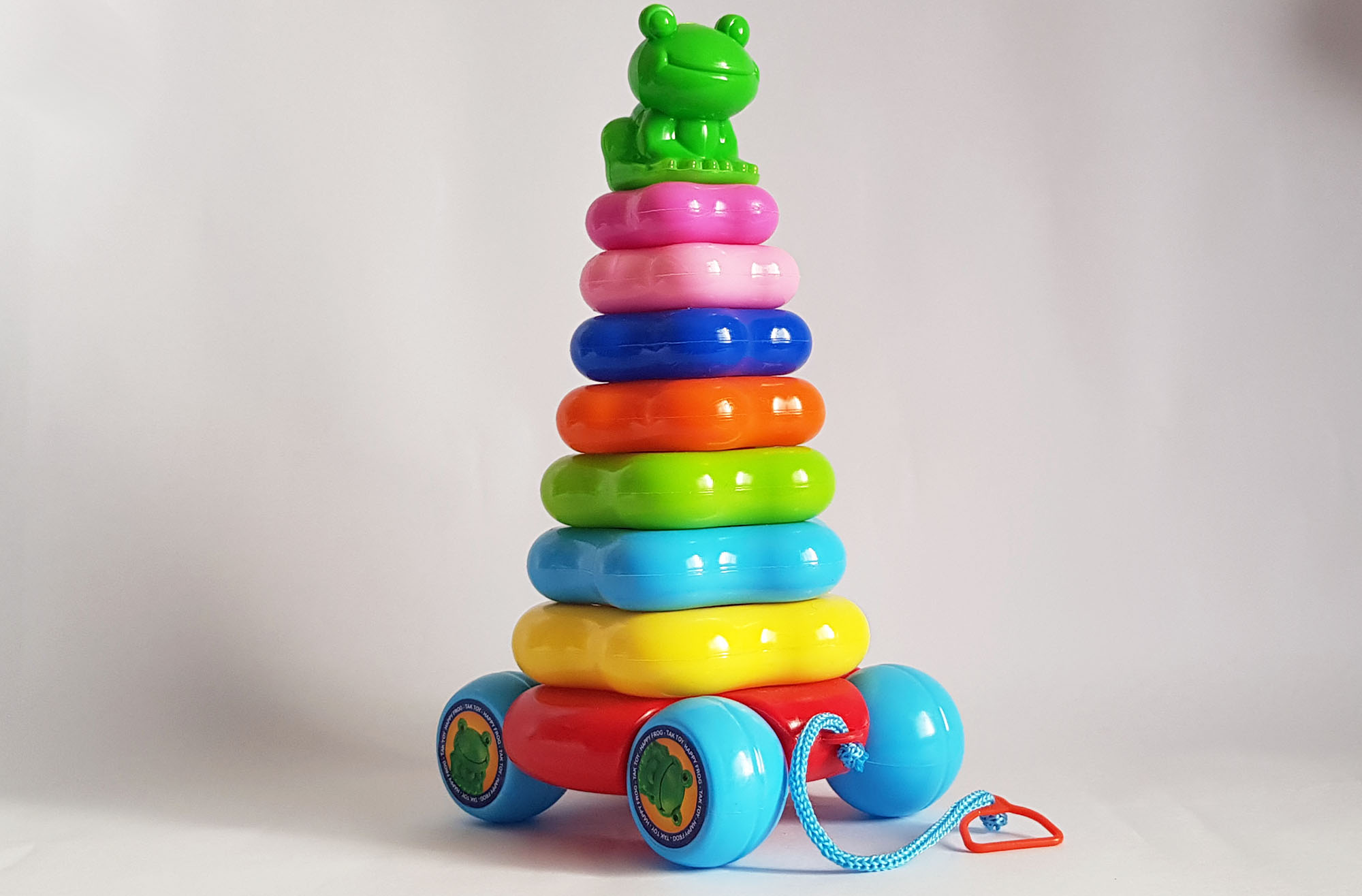 حلقه-هوش-قورباغه-اي-(تك-توي)-كوچك-چرخ-دار