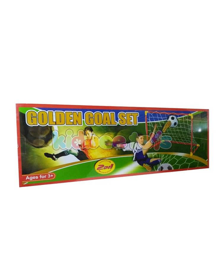 مجموعه-هدف-فوتبال-طلايي-جعبه-اي-بزرگ