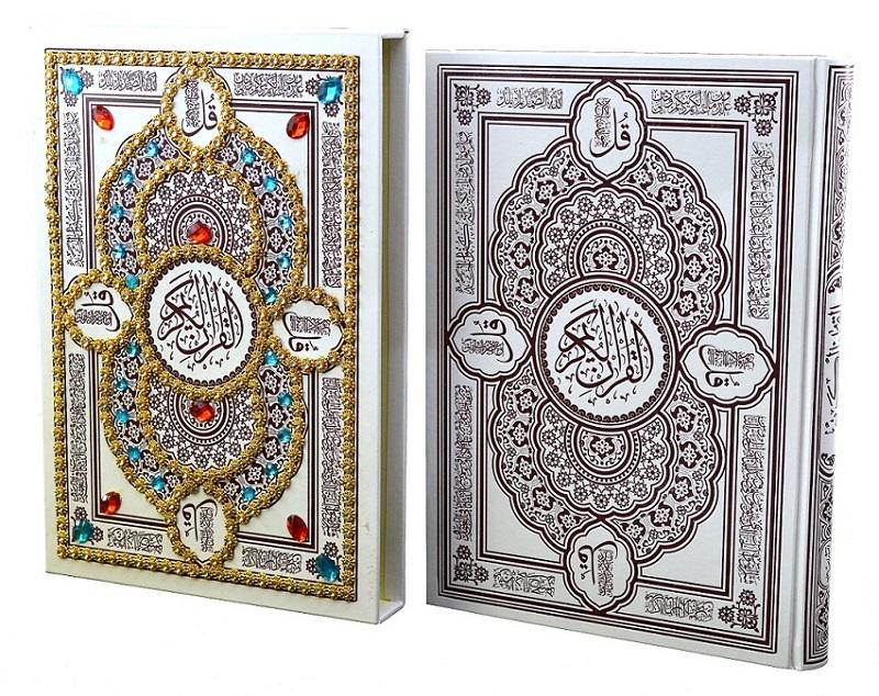 =قرآن-(هليا)-عثمان-طه-رحلي-قابدار-مرصع-لب-طلا-گلاسه-قمشه-اي-158