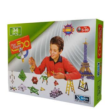play-with-magnetبازي-مگنت34قطعه