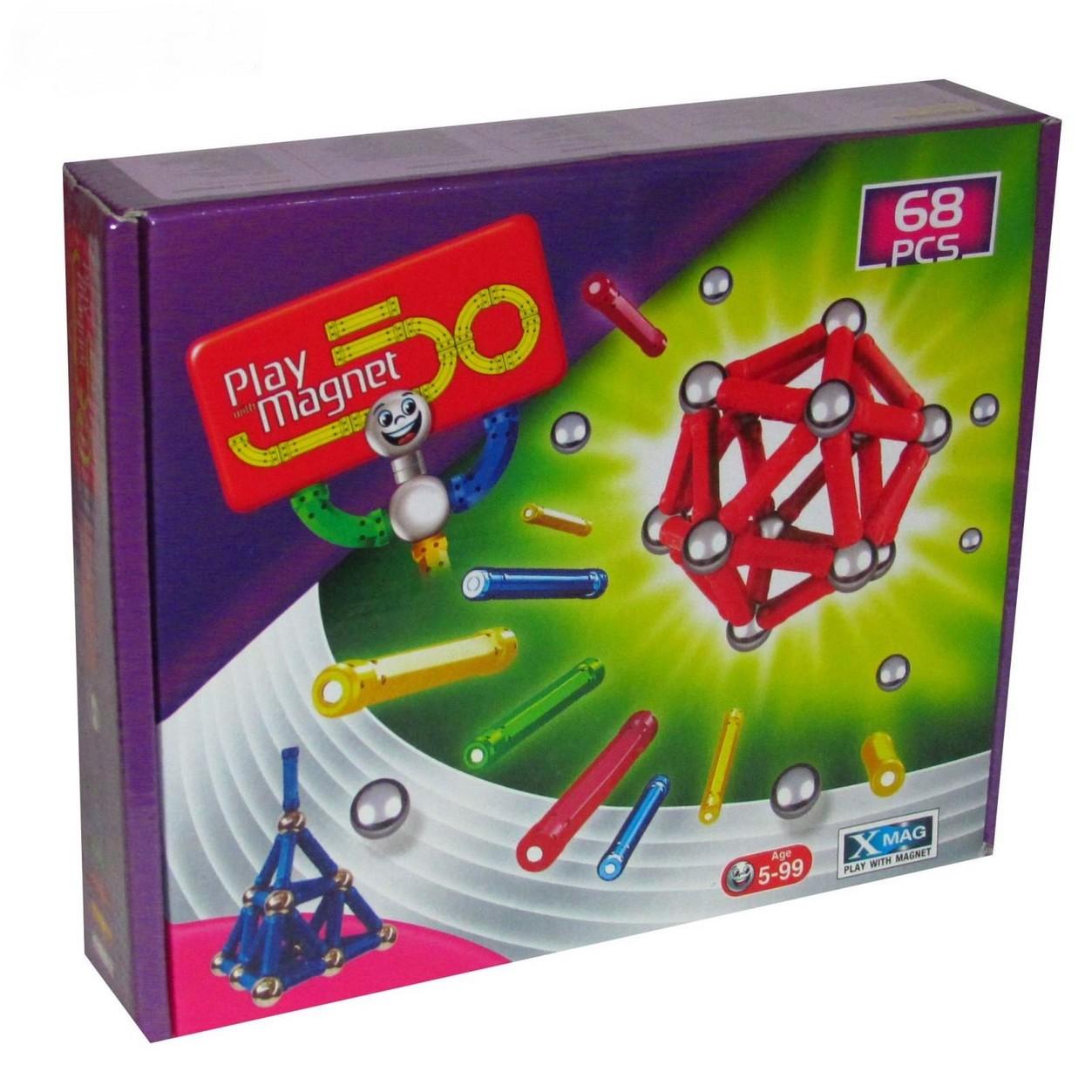 play-with-magnetبازي-مگنت68قطعه