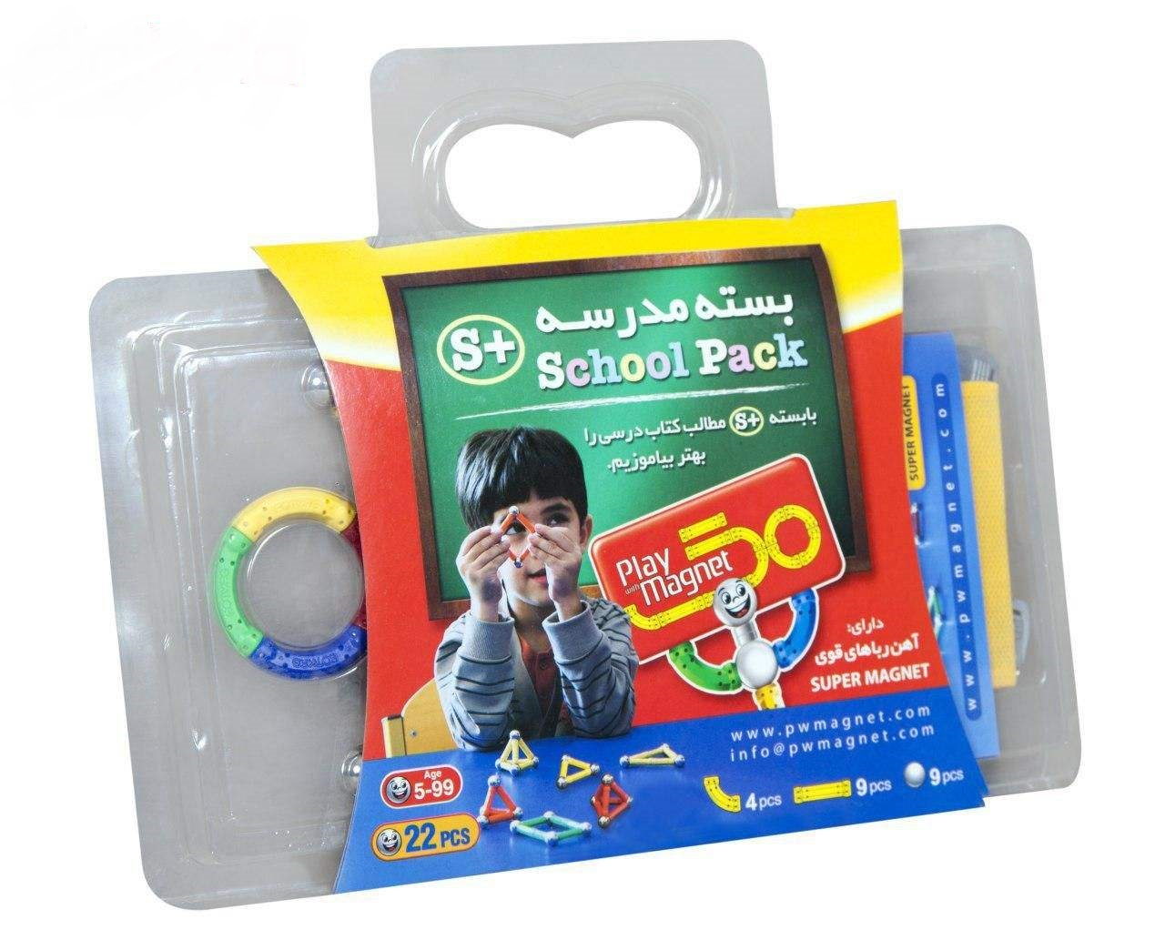 play-with-magnetبازي-مگنت-بسته-مدرسه22قطعه