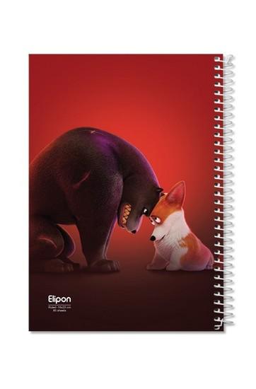 اليپون-دفترمشق80برگ-وزيري-سيمي-مجلدجلدنرم-كارتوني-تك-خط2352356