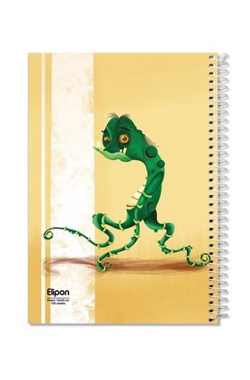اليپون-دفترمشق100برگ-وزيري-سيمي-مجلدجلدنرم-فانتزي-تك-خط2413269