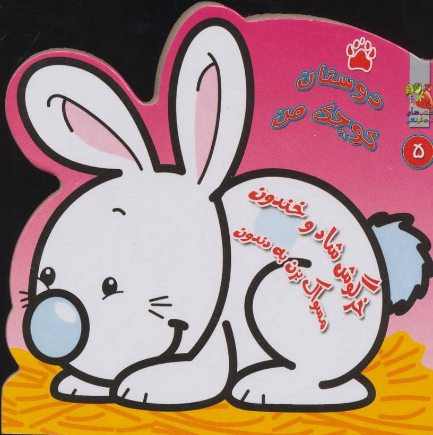 دوستان-كوچك-من-5--خرگوش-شاد-و-خندون-مسواك-بزن-به-دندون-(سايه-گستر)-نيم-خشتي-سخت