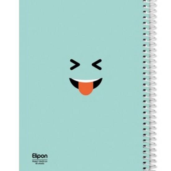 اليپون-دفترمشق80برگ-وزيري-سيمي-جلدنرم-كلاسيك-تك-خط2312231