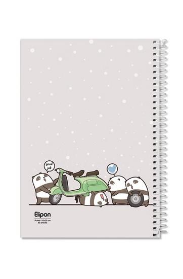 اليپون-دفترمشق80برگ-وزيري-سيمي-مجلدجلدنرم-فانتزي-تك-خط2362212