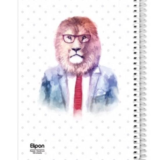 اليپون---دفتر-مشق-100-برگ-وزيري-سيمي-جلد-نرم-فانتزي-تك-خط-2393261