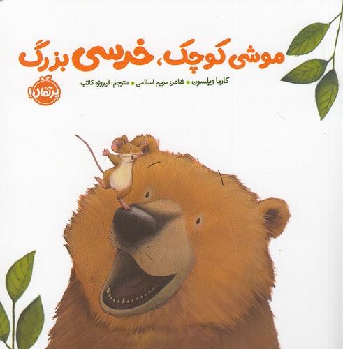خرسي-و-دوستاش---موشي-كوچك،-خرسي-بزرگ-(پرتقال)-نيم-خشتي-شوميز
