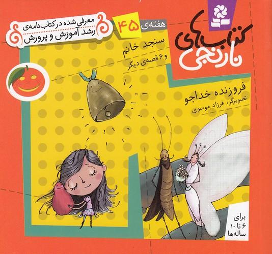 كتاب-هاي-نارنجي---هفته-ي-45---سنجد-خانم-(بنفشه)-نيم-خشتي-شوميز
