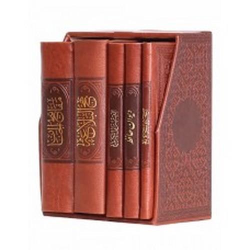 مفاتيح-الملكوت---قرآن--مفاتيح--نهج--صحيفه--حافظ-5-جلدي-(پيام-عدالت)-پالتويي-قابدار-چرم