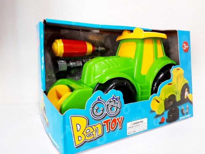 تراكتور-taha-(بن-توي)-جعبه-اي-