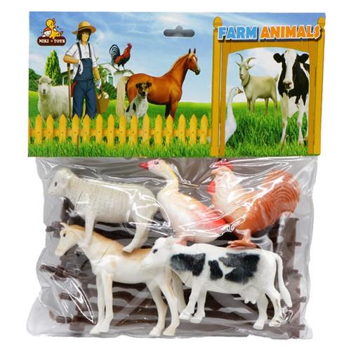 حيوانات-مزرعه-اهلي-(نيكي-تويز)-وكيوم