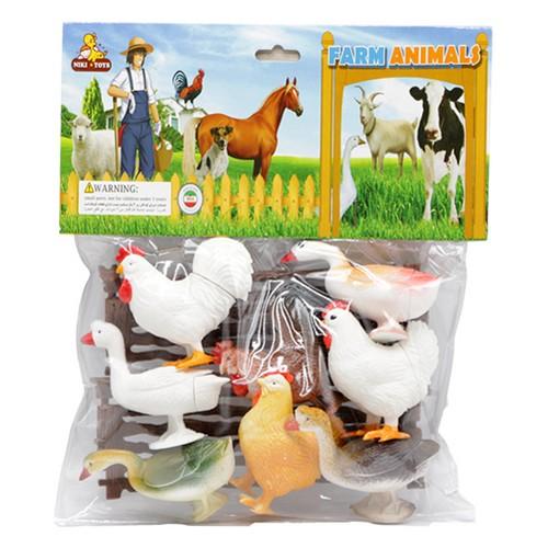 حيوانات-مزرعه-پرندگان-(نيكي-تويز)-وكيوم-