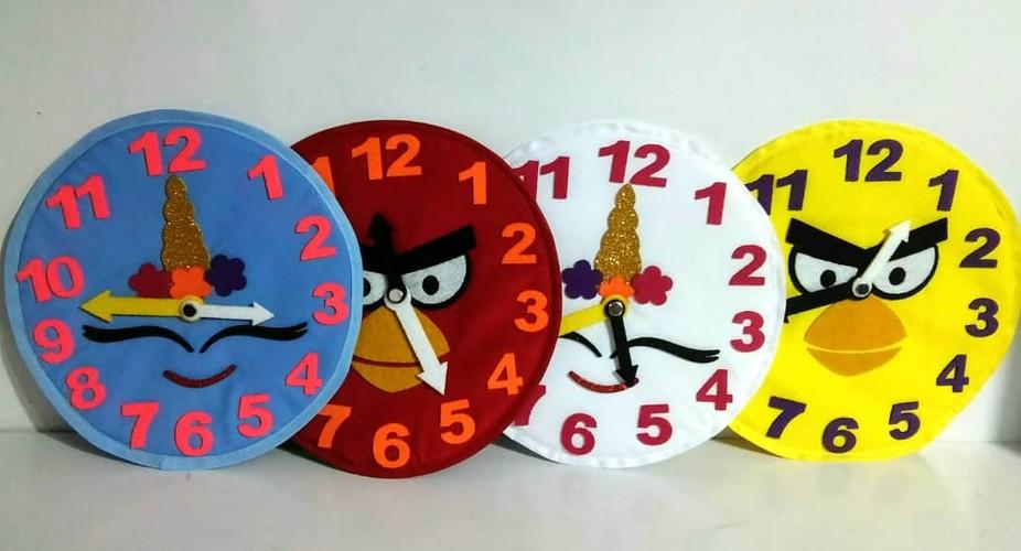 ساعت-آموزشي-(فريماه)-پارچه-اي-