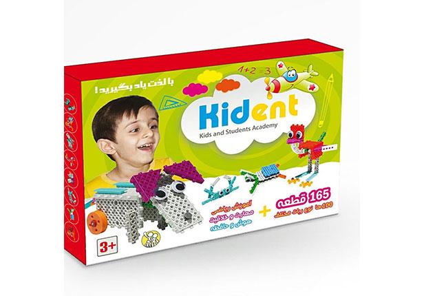 kident-كيدنت-165-قطعه-(كودك-امروز)-جعبه-اي