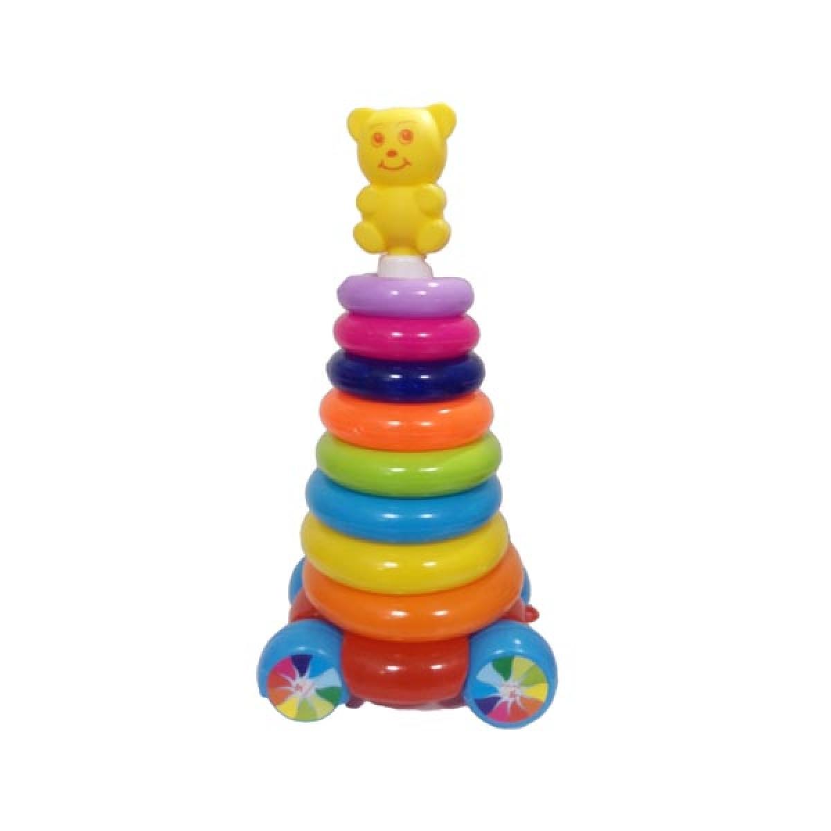 حلقه-هوش-خرسي(كودك-برتر)متوسط-چرخ-دار