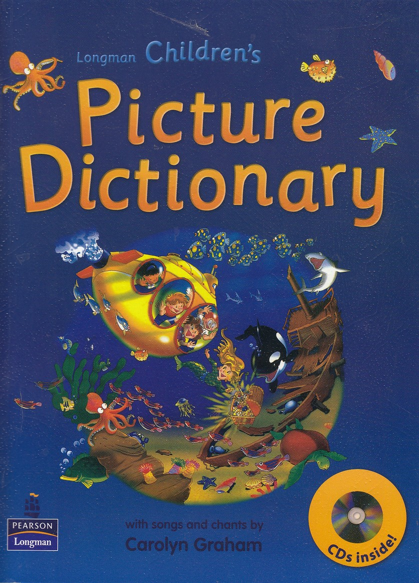 picture-dictionary-childrens-با-cd----آبي