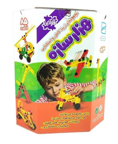 هزار-سازه-85-قطعه-(فكرآذين)-جعبه-اي
