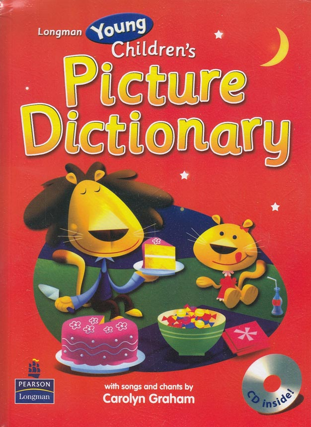 young-childrens-picture-dictionary-با-cd----قرمز-------