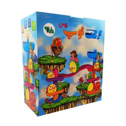 برج-توپ-پلاس-(زرافه-تويز)-جعبه-اي
