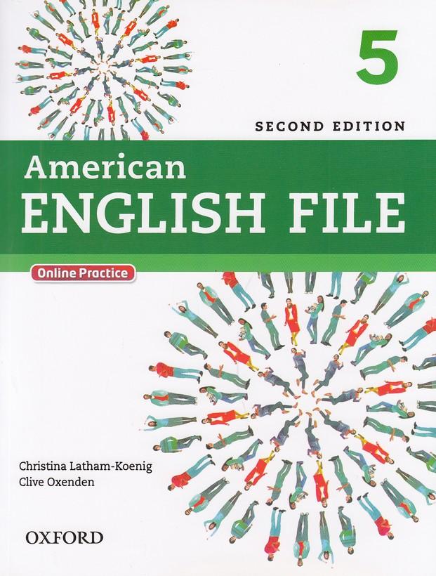 american-english-file5باcd--
