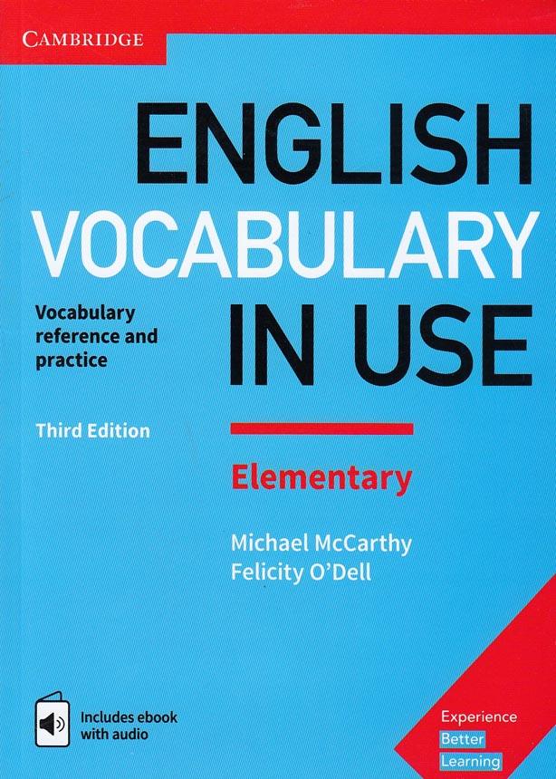 english-vocabulary-in-use-elementary-با-cd---
