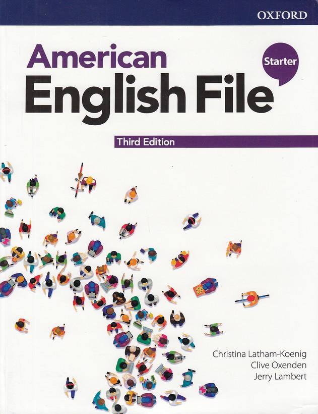 american-english-file-starter-با-cd-ويرايش-3---