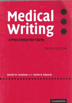 medical-writing--(a-prescription-for-clarity)