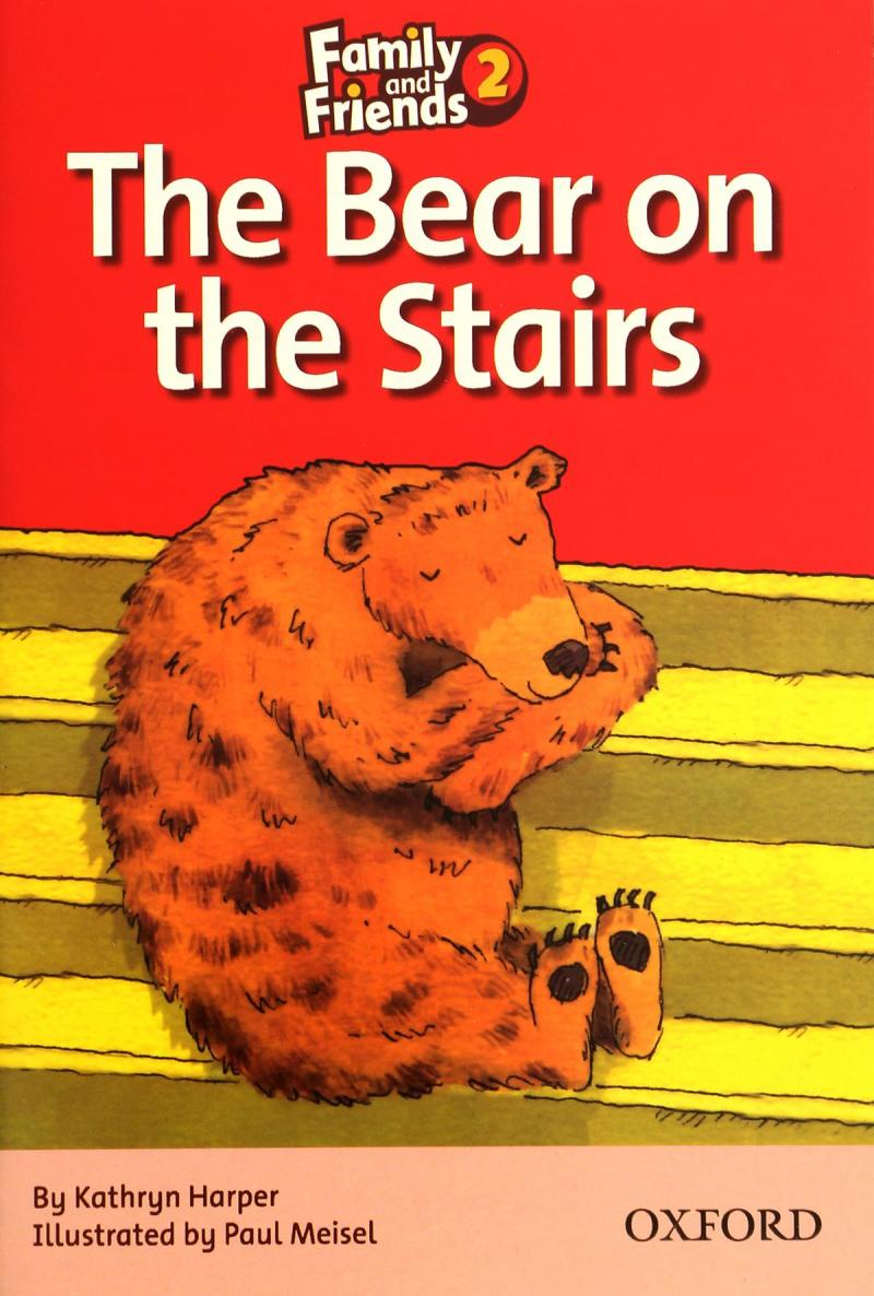 family-and-friends-2-readers-the-bear-on-the-stairs