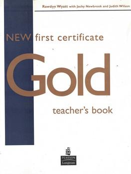 new-first-certificate-gold--teacher's-book