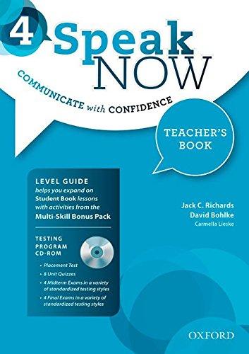 speak-now-4-teacher's-book-with-testing-cd-rom