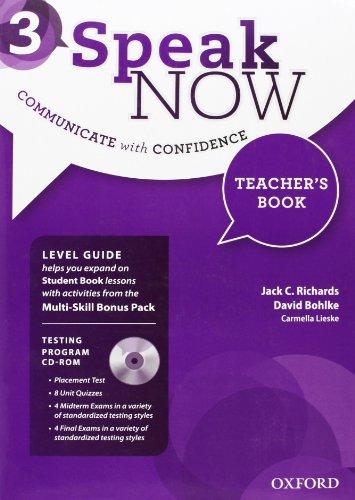speak-now-3-teacher's-book-with-testing-cd-rom
