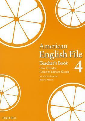american-english-file-4-teacher's-book