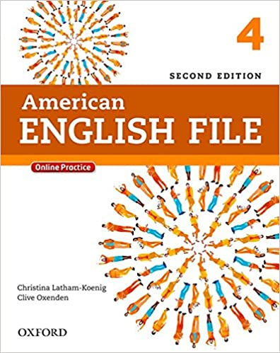 american-english-file-4-student's-book-with-workbook-(2th-edition)