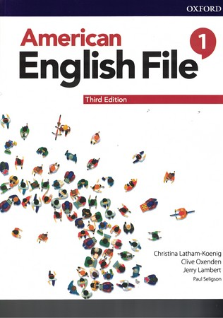 american-english-file-1-student's-book-with-workbook-(3th-edition)-