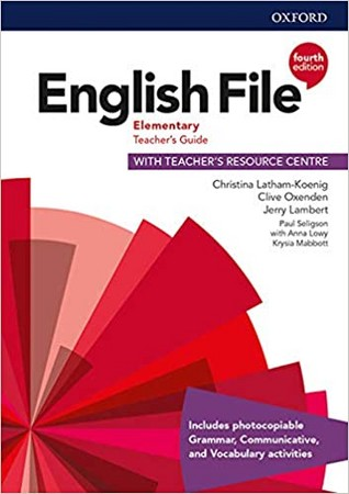 english-file-elementary-teacher's-guide-with-teacher's-resource-centre-(4th-edition)