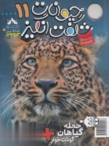 نشريه ماهنامه حيوانات شگفتانگيز 11 (3 تا 33 سال)