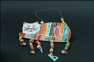 آويز گربه ساعي