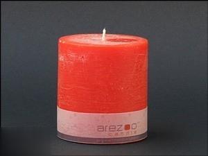 شمع استوانه كوچك arezoo