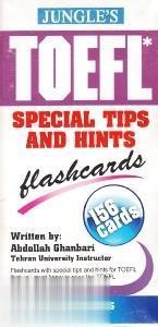 تافل نكات ويژه TOEFL Special Tips and Hints Flashcards 156 Cards