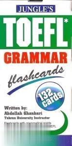 گرامر تافل TOEFL Grammar Flashcard 132 Cards